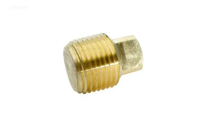 .5IN MPT BRASS SQUARE HEAD PLUG 109F 1