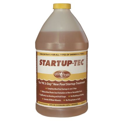1/2 GAL STARTUP TEC NEW POOL PLASTER 8/CS TREATMENT REDUCES  70064