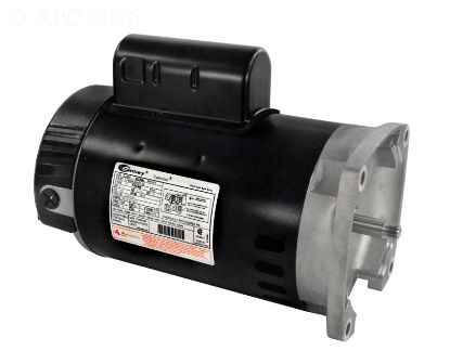 1.5 HP 115/230V SQ FLANGE MOTOR UPRATED B2854
