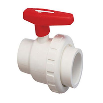 1.5IN MPT X SKT SINGLE UNION BALL VALVE PVC TSUP SERIES  150-016