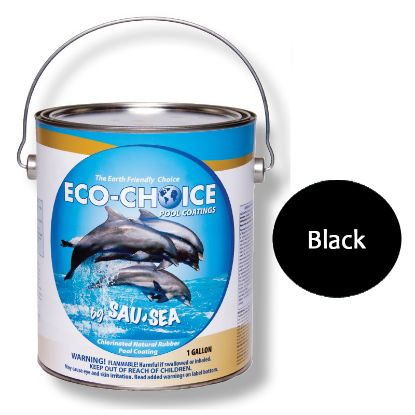 1GAL ECOCHOICE PREM GLOS BLACK SAUSEA HIGH GLOSS RUBBER 1ECPRBK