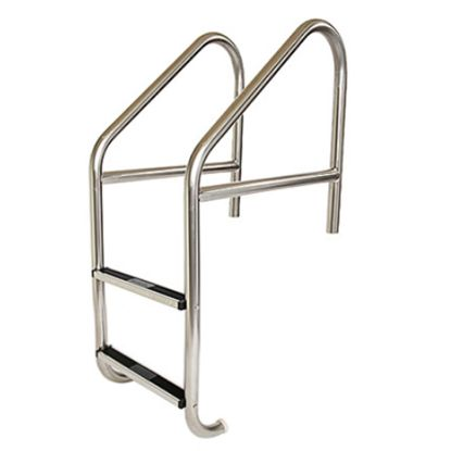 2 STEP 24IN CROSS BRACE IG LADDER .065IN TUBE STAINLESS  LFB-24-2A