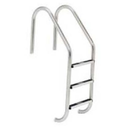 2 STEP 24IN STRAIGHT IG LADDER .065IN TUBE STAINLESS STEPS  LF-24-2A