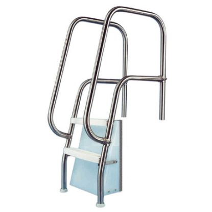 2 STEP THERAPEUTIC LADDER 1.9IN OD .145IN TUBE PARAGON  42701