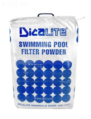 25 LB BAG DE FILTER POWDER DE25