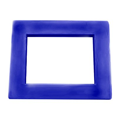 SKIMMER FACE PLATE COVER DARK BLUE CUSTOM MOLDED PRODUCTS 25540-069-020