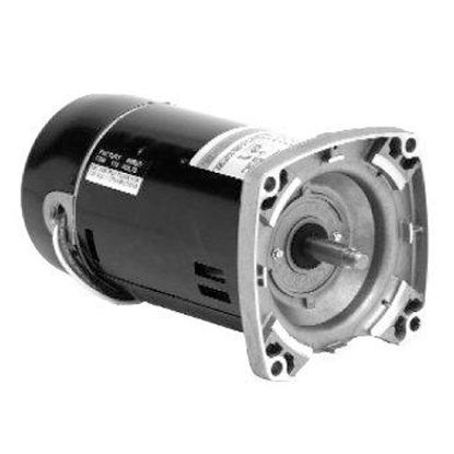 2HP SQUARE FLANGE MOTOR 115/230 VOLT EMERSON FULL RATED ASB748