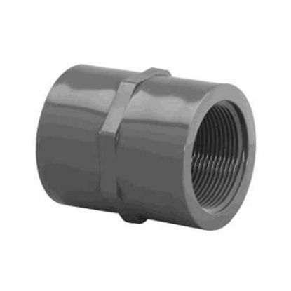 2IN FPT COUPLING SCHEDULE 80 GRAY 830-020