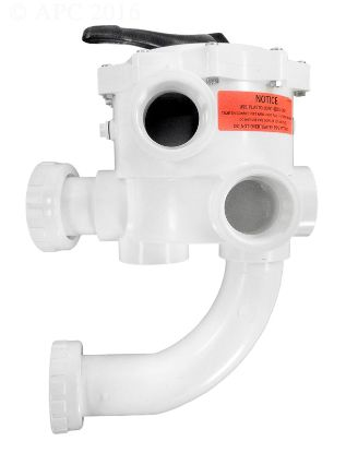2IN FPT MP BW VALVE PLUMBED W/ UNIONS SIDE MOUNT DE 6 POS  18201-0300