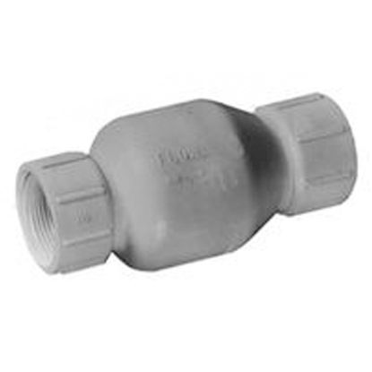 2IN FPT SPRING CHECK VALVE PVC FLO CONTROL 1001-20