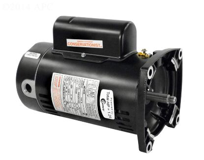 3/4 HP MOTOR 48Y SQ FACE CONSERVATIONIST QC1072