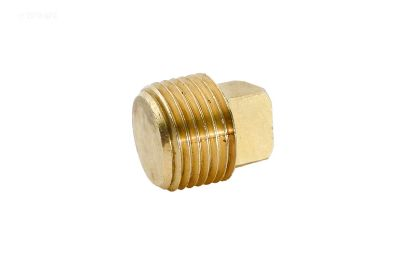 3/8IN MPT BRASS SQUARE HEAD PLUG 109E 1