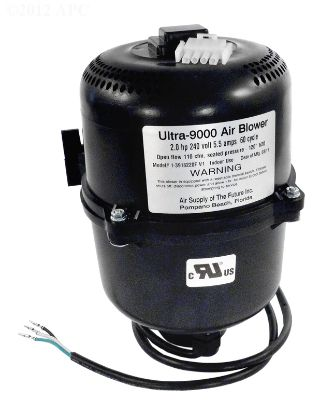 ULTRA 9000 240V 2 HP 6A 4 PIN AMP CORD AIR BLOWER PORTABLE  3920201