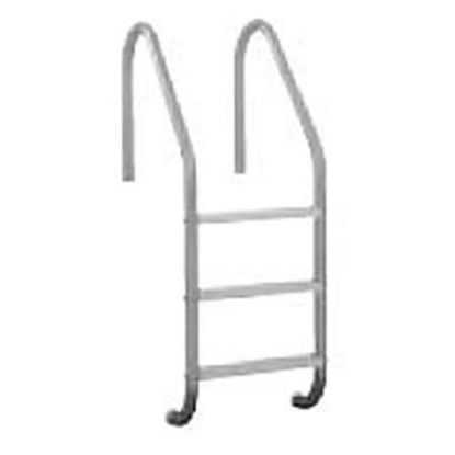 4 STEP 24IN RESIDENTIAL IG LADDER .049IN TUBE PLASTIC STEP  RLF-24E-4C