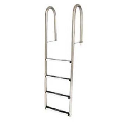 5 STEP DOCK LADDER .065IN TUBE STAINLESS STEP SR SMITH LLS-5
