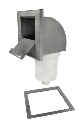 50 SQ FT SINGLE PORT FRONTACCESS FILTER 2IN SPIGOT OUTLET  25252-011-000
