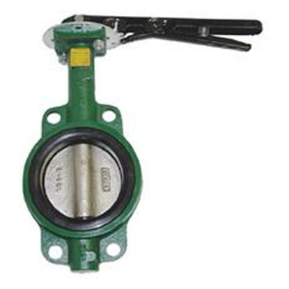 6IN CAST IRON BUTTERFLY VALVE HBFV6