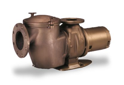 7 1/2 HP 230V C PUMP BRONZE COMMERCIAL 1 PH MED HEAD IG 6IN  347917