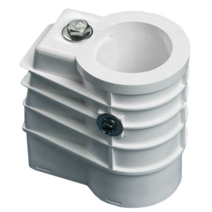 ANCHOR SOCKETS HIGH IMPACT POLYMER WHITE EACH SAFTRON ANCH-1W