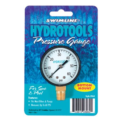 BOTTOM MOUNT PRESSURE GAUGE 8962