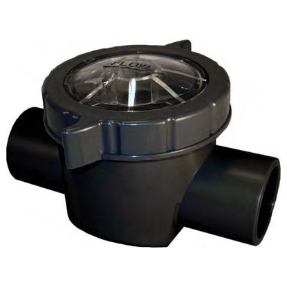CHECK VALVE 1.5IN CPVC BLK BODY CLEAR LID 2LB SPRING 25830-150-000
