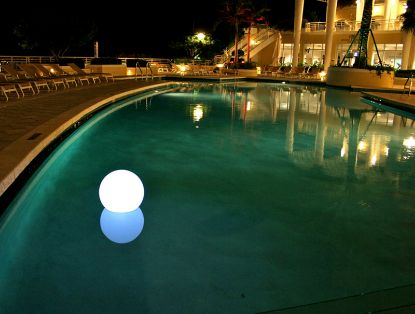 CHILL LITE BUBBLE FLOATING LIGHT SHOW 13121