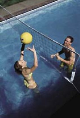 COMMERICAL VOLYBALL W/ANCHORS (52-60') POOL VOLYC52