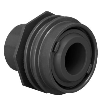 FLUSH MOUNT RETURN/WATER BARRIER  FITS 1IN OR 1 1/2IN PIPE  301