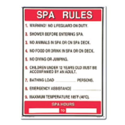 GENERAL COMMERCIAL SPA RULES 40327