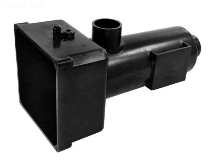 HOUSING BRETT 5X5 HEATER MANIFOLD BLACK PLASTIC 15-0001