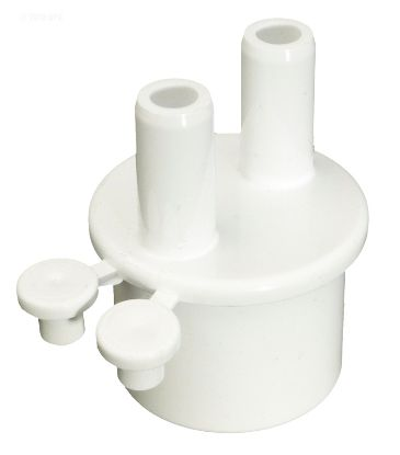MANIFOLD 1IN SPIGOT X TWO 3/8IN BARB PORTS WITH 2 PLUGS 672-4010