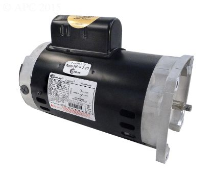 MOTOR 1-1/2 HP SQ FLANGE FULL ENERGY EFFICIENT B2842