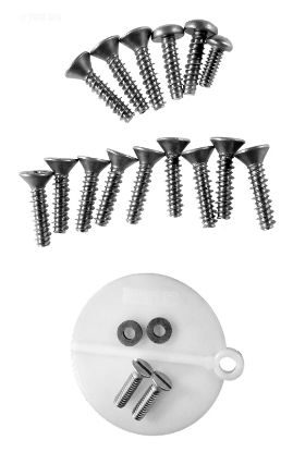 PENTAIR ADMIRAL SKIMMER 12 HOLE PATTERN SCREW KIT 85008700