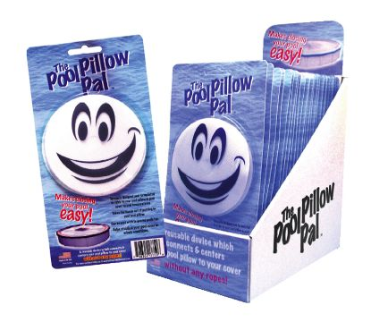 POOL PILLOW PAL CONNECTS AND CENTERS PILLOW W/ COVER WITHOUT POOLPILLOWPAL