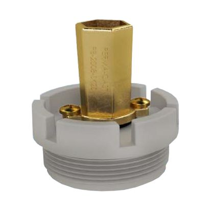 POOLBOND SKIMMER MOUNT 1.5IN MPT IN NORMAL PLUGGED HOLE  PB-SK-15