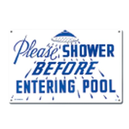 POOLMASTER #40320 SIGN-SHOWER 40320