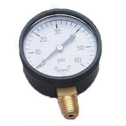 PRESSURE GAUGE 1/4INLOWER MOUNT 80-845-B