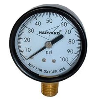 PRESSURE GAUGE STEEL CASE 4.5IN 1/4IN MPT 0-60 IPG6045-4L