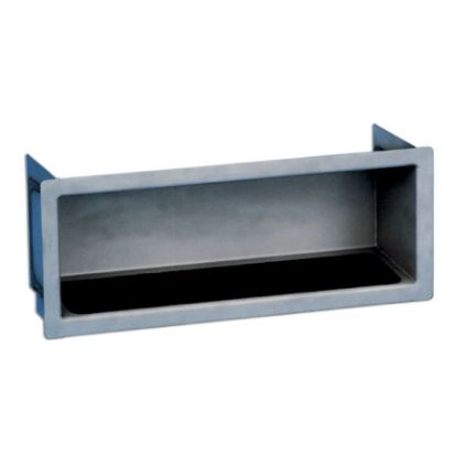 STAINLESS RECESSED STEP PARAGON 15IN x 5IN x 5IN 32104