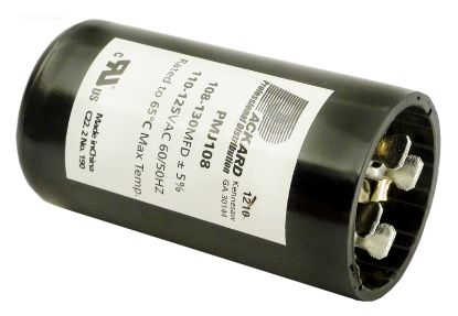 START CAPACITOR 108-130 MFD 110-125VAC BC-108