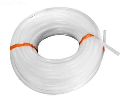 SUCTION/DISCHARGE TUBING WHITE 100' X 3/8IN MALT010